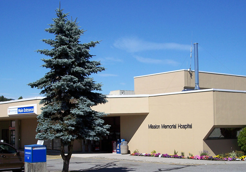 Mission Memorial Hospital, Mission BC